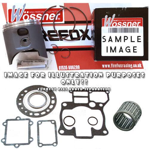 Yamaha YZ125 1986-1988 Top End Rebuild Kit WOSSNER Piston Kit VARIOUS SIZES