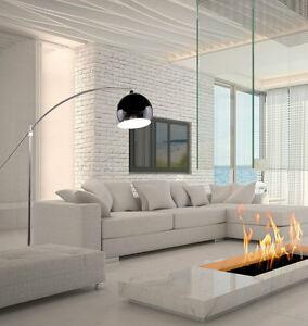 Dettagli Su Piantana Lampada Da Terra Ad Arco Easy Stelo In Stile Moderno Design Evolio Crom