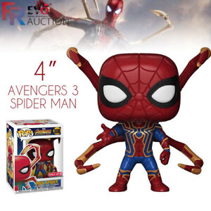 4-034-Funko-Pop-Avengers-3-Spider-Man-300-Figurines-Vinyle-a-Collectionner-Modele