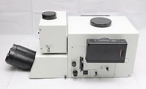 Olympus ax microscope trinocular head mm camera u photo bx ebay