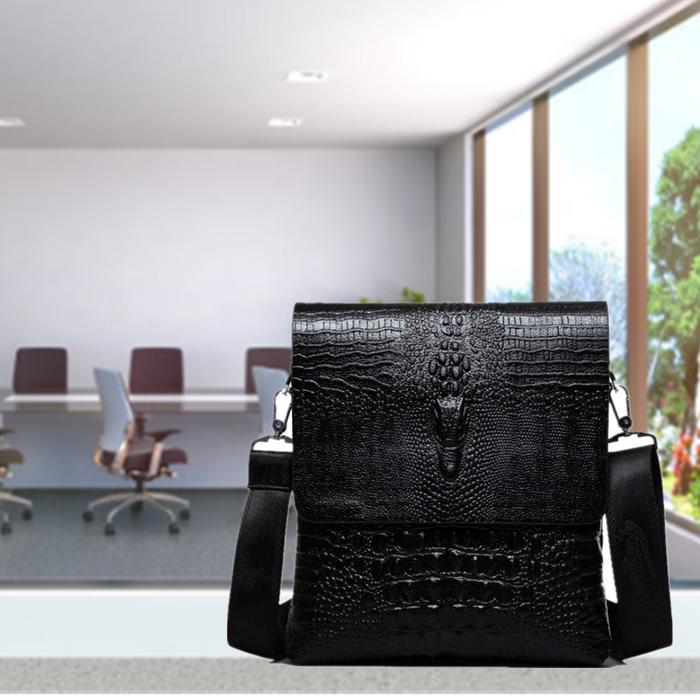 Leather Messenger Bag for Men Satchel Briefcase Business Shoulder Crossbody Bags Bags