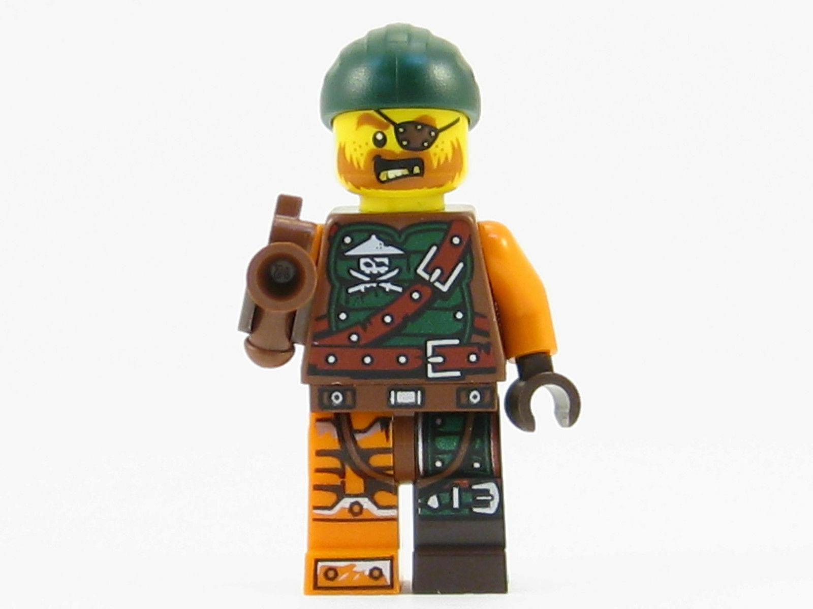 Lego New Ninjago Minifigure Bucko Ninja