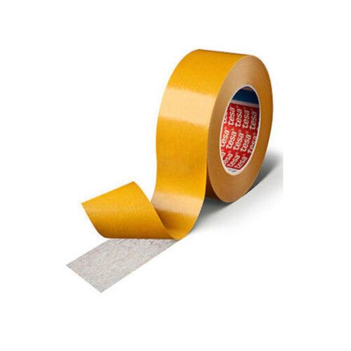 tesa 51571 doppelseitiges Klebeband Vliesklebeband stark haftend 25mm x 50m