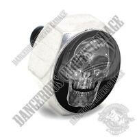 Polished Billet Hex Air Cleaner Cover Bolt - Twin Cam Touring Chrome Evil Skull