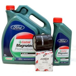 Ford-Castrol-Magnatec-0W30-Motoroel-6-Liter-Olfilter-2-0-TDCi
