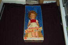 "Vintage 13"" Carol Doll Regal Toys Plastic Made in Canada With Original Box"