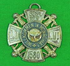 Vintage WW1 WW2 Post WW2 Period German Germany Badge Medal Cross #9
