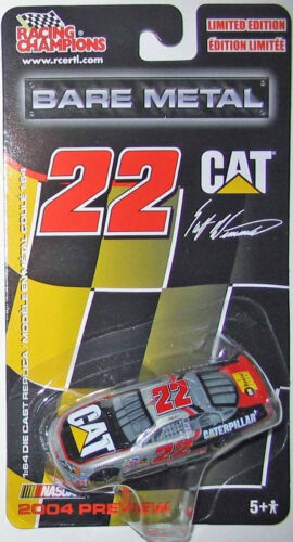 2004 Preview  Racing Champions BARE METAL 1:64 Scott Wimmer #22 CAT Dodge