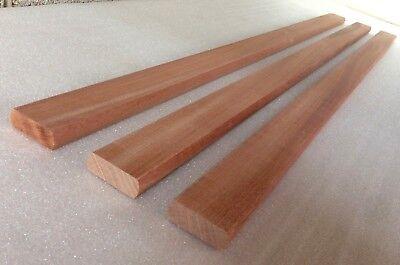 Sapele Mahogany Hardwood Bench Slats 1.22m 4 ft x 20mm