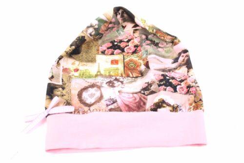 retro rosa tg Farbgewitter Olga BERRETTO Bambini Ragazza colorato STELLE 50-56 S-M