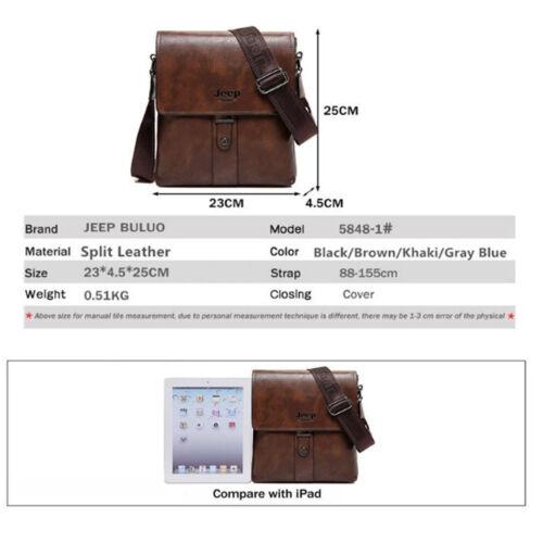 Men Bags Cow Split Leather Fashion Male Messenger Bags Man Casual Shoulder Bag