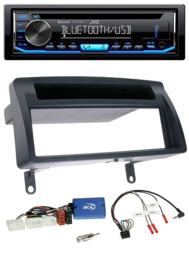 JVC Bluetooth CD mp3 USB VOLANTE AUTORADIO PER TOYOTA COROLLA e12 2001-2007