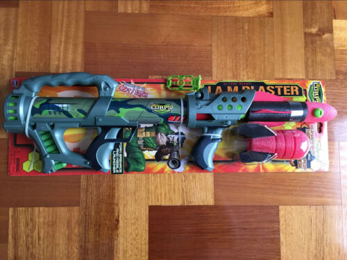 Blaster Foam Grenade And Missile Launcher Rocket Toy Shoot 45FT The Corps J.A.M