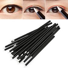 50pcs Cosmetic Makeup Tool Disposable Eyeliner Liquid Wand Applicator Brush SL