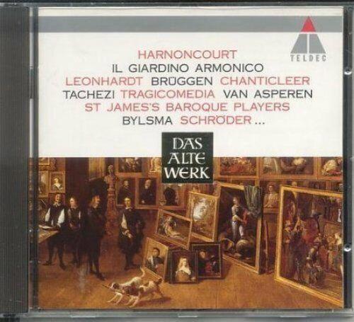 Das alte Werk (Teldec, 1994) Vivaldi, Pergolesi, Boccherini, Bigaglia, Co.. [CD]