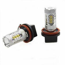 2Pcs Genuine Cree XB-D LED Fog Light or DRL 80W 1900LM, H11/H8-Xenon White 6000K