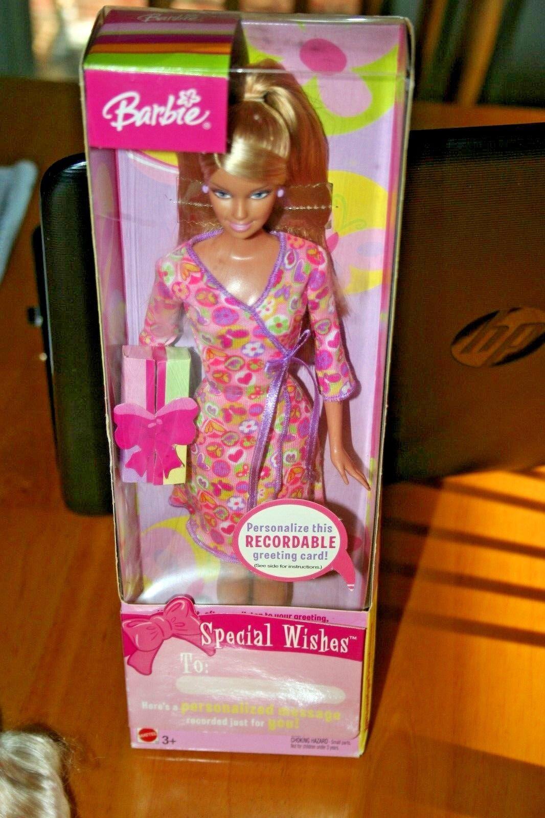 Muñeca Barbie 2003 deseos Especial-Nuevo En Caja-Caja de daño menores-se vende como está