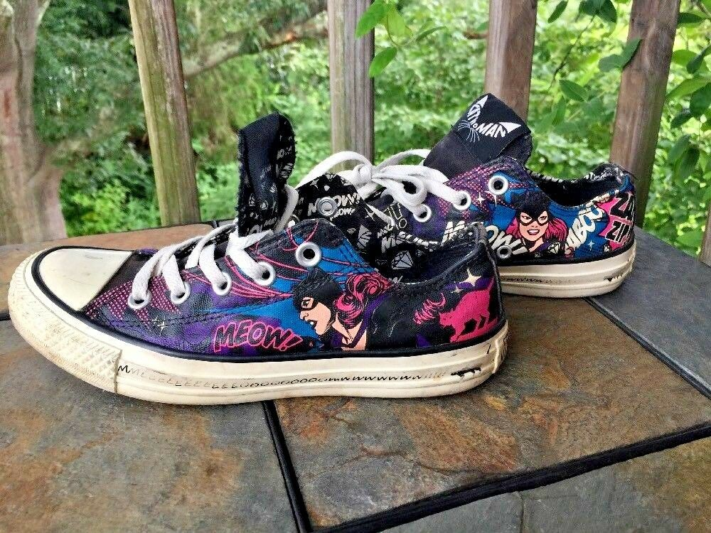 CONVERSE Sneakers CAT Damenschuhe Meow DC COMICS Batman Villain Schuhes Damenschuhe Sz 6