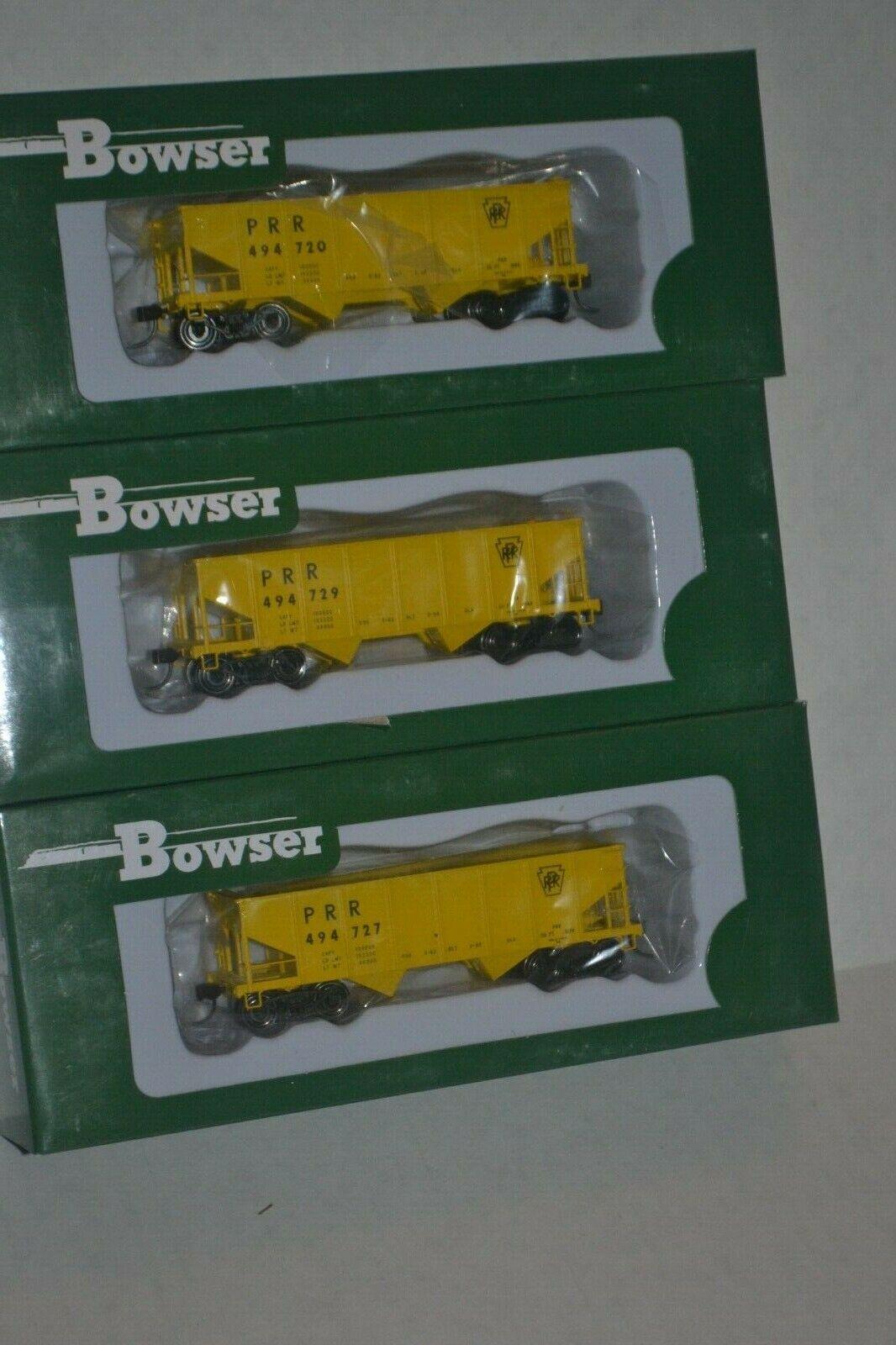 3 Bowser Pennsylvania MOW 2Bay GLa Type hopper Ho Scale 41902, 41903, 41904