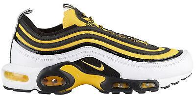huge selection of 1ba21 9a06e NIKE AIR MAX PLUS / 97 TN AV7937-100 Black/Tour Yellow/White | Frequency  Pack c1 | eBay