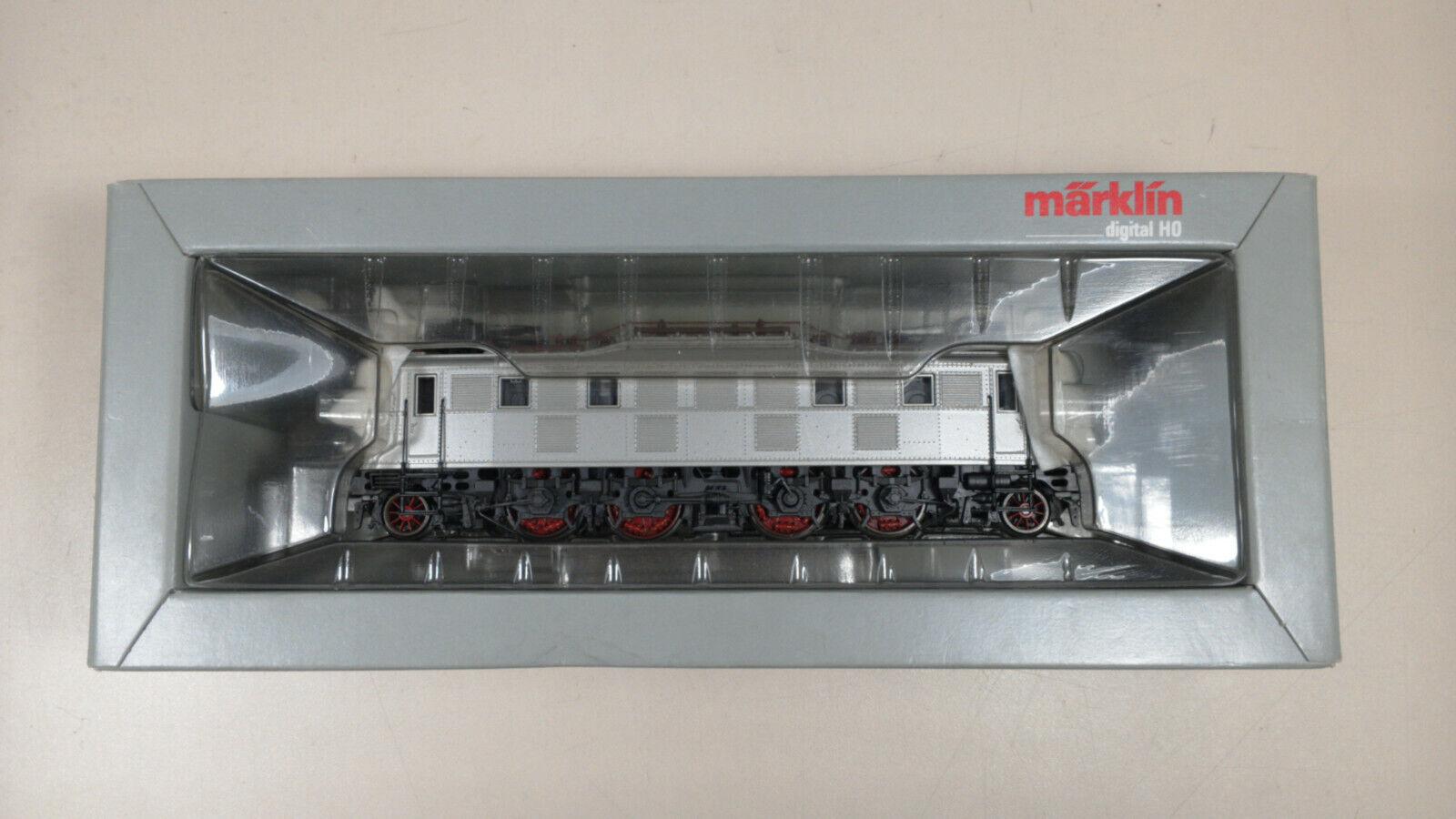 Märklin H0 aus 3667 E-Lok BR E 18   118 silber Digital neuwertig in teilw. OVP  | Spielzeugwelt, glücklich und grenzenlos