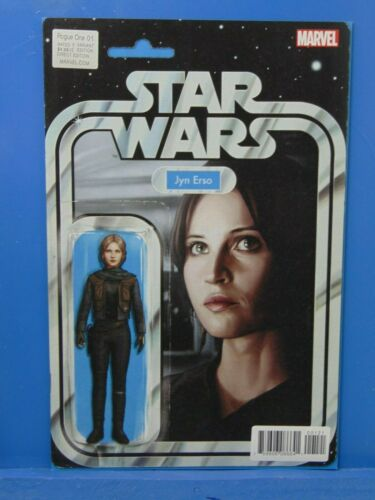 Star Wars Rogue One #1 Action Figure Variant Marvel Comics 1st Print