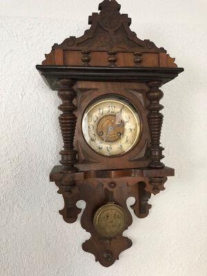 Antike Wanduhr, Antiquität, Wanduhr, Uhr, antik | eBay