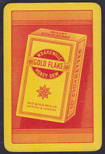 W D & H O Wills Gold Flake Honey Dew Cigarette Advertising Single Playing Card