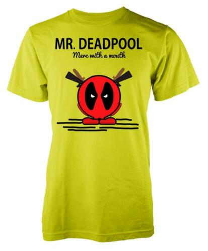 Mr Deadpool Merc With A Mouth Adult T Shirt