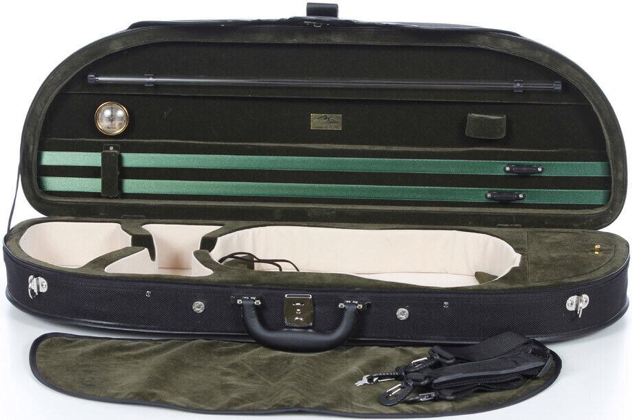 FR Étui en foam pour violon Classic 4 4 M-case schwarz - Grün