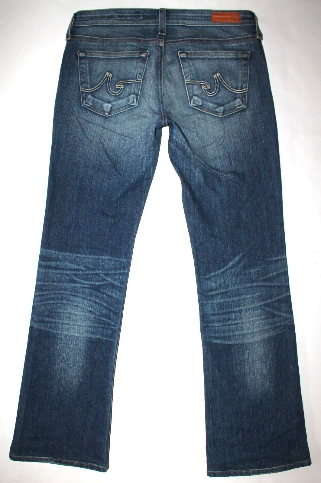 AG Adriano goldschmied Women's The Angel Boot Cut Jeans Size 27R X 28 1 4 CUTE