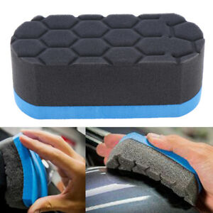 Car-Wash-Sponge-Cleaning-Tool-Professional-Hex-Waxing-Buffing-Applicator-Pad-HC