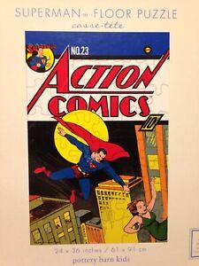 Pottery Barn Kids Dc Action Comics Superman 48 Piece 24