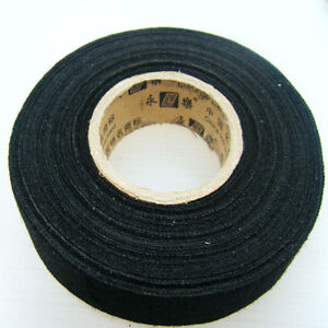 2pcs 25mmx15m car fabric cloth tape automotive wiring harness glue rh ebay com