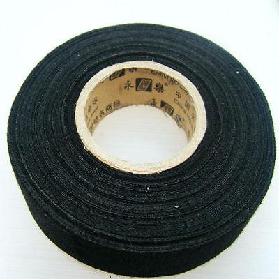 wiring harness glue 2pcs 25mmx15m car fabric cloth tape automotive wiring harness glue  2pcs 25mmx15m car fabric cloth tape