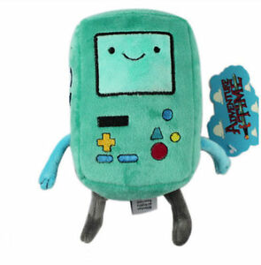 New Adventure Time with Finn and Jake BMO Beemo Soft Stuffed Plush Dolls Toys