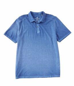 Tommy-Bahama-Men-s-SZ-XL-Cirrus-Coast-Polo-Shirt-Dockside-Blue-MSRP-100
