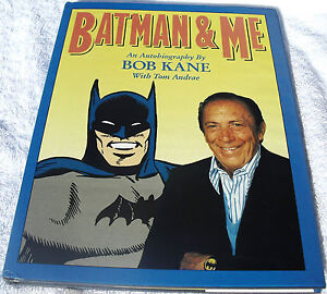 Batman-amp-Me-Limited-Hardcover-HC-Signed-amp-Numbered-by-Bob-Kane-Dark-Knight-Rare