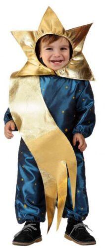 Baby Boys Girls Shooting Star Christmas Nativity Fancy Dress Costume 0-24 Months
