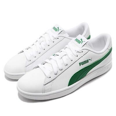 puma smash v2 l white amazon green men women casual shoes