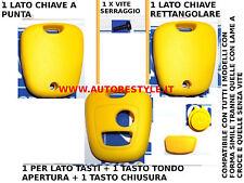 COVER GUSCIO GIALLO PER CHIAVE TELECOMANDO 2 TASTI PEUGEOT 206 107 207 307