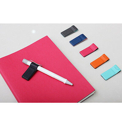 Useful colorful  Magnetic Pen Pencil Holder Refrigerator Magnet Bookmark Clip