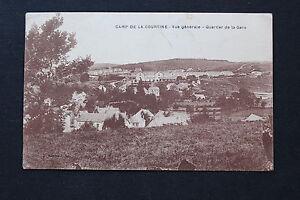 Carte-postale-ancienne-CPA-CAMP-DE-COURTINE-Vue-generale-Quartier-de-la-Gare