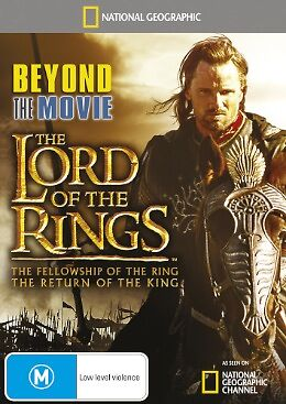 1 of 1 - National Geographic - Beyond The Movie - Lord Of The Rings DVD, 2012). BRAND NEW