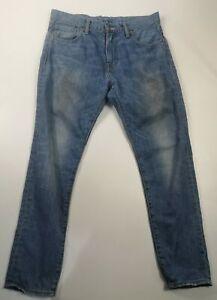 Homme-Slim-Levi-039-s-520-W30-L30-Denim-Jeans-Fonce-Bleu-Delave-Levi-Strauss-Skinny