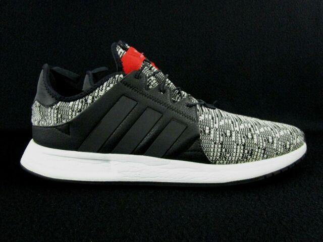 Adidas Originals X PLR Trainers Men'a Running Shoes Sz 12 Black White (BY9262)