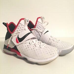 Nike Lebron XIV 14 Flip The Switch Red White Black 852405 ...