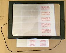 2-3 x Magnifier Magnifying Screen Enlarge Small Print Text Vision Reading Aid