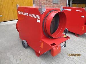 617-18-Zeltheizung-Jumbo-115-M-133-KW-Warmluftheizung-Olheizung-8000-m-Bauj-14