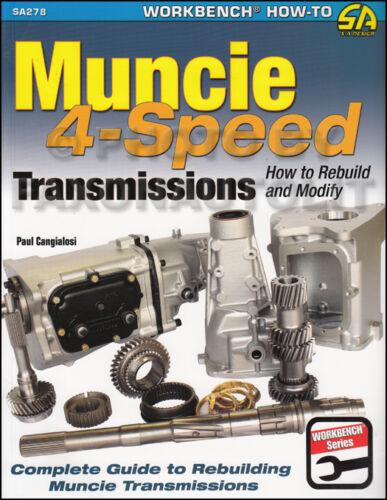 1963-1974 Muncie Rebuild Manual Corvette Impala Nova Camaro Chevelle El Camino